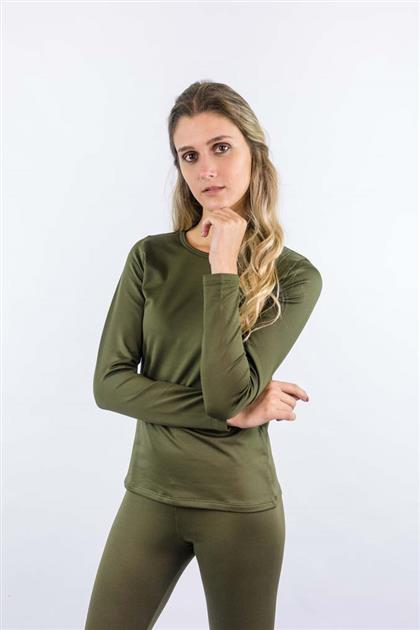 Blusa Térmica Feminina Decote Redondo 1093