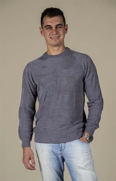Blusa masculina com textura em camuflado 6151