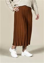 Saia de tricot plissada 5105