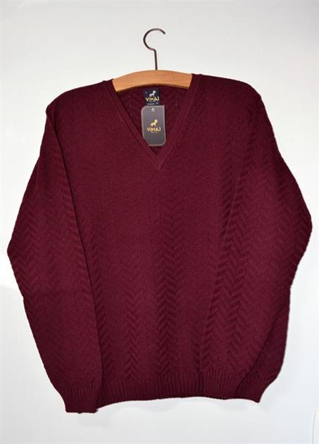 Blusão masculino links zigue zague  6159