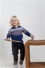 Blusa infantil degradê 3 cores 9073