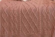 Capa de almofada em aran quadrada 50x50 20017