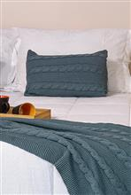 Capa almofada Ponto arroz com tranças 50X30 20032