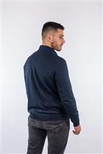 Blusão leve argyle com losangos quadriculados em duas cores 6130