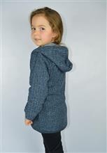 Jaqueta Infantil com capuz em tweed  8059