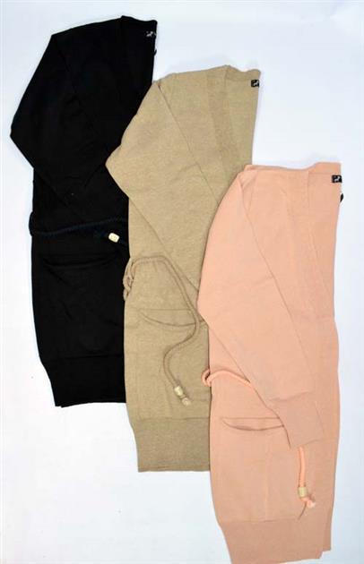 Casaco alongado com bolsos 3169