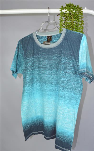 Camiseta estampa degradê 6163