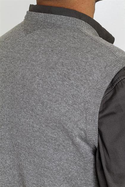 Colete masculino com detalhe nas costas 6165