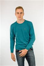 Blusão leve masculino detalhe diagonal com textura 6097