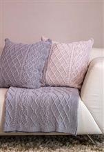 Manta casa com textura em aran 180x115 20018