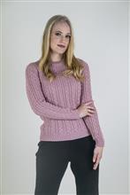 Blusa feminina com tranças 1342