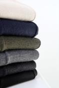 Calça Reta Lã Acrílica com Friso 5005