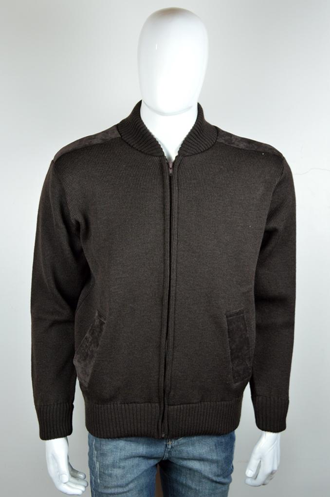 Jaqueta Masculina em Lã com detalhes em veludo 7003