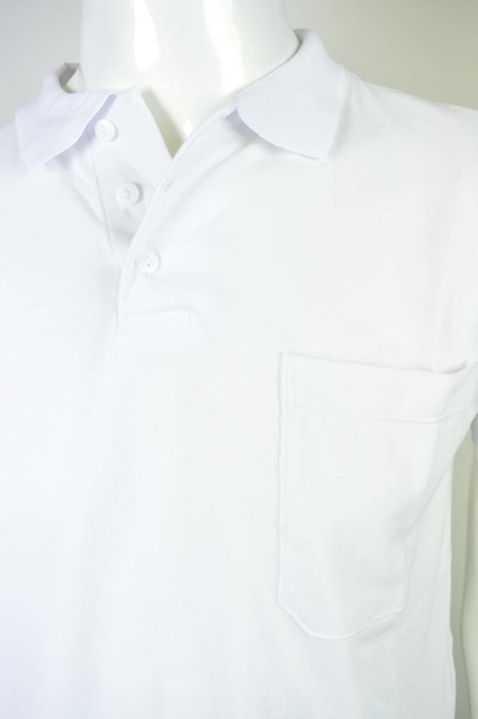 Camisa Polo Malha Piquet com Bolso - Vimaj Malhas fb2eb9d050346