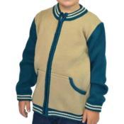 Jaqueta infantil com três cores 9050
